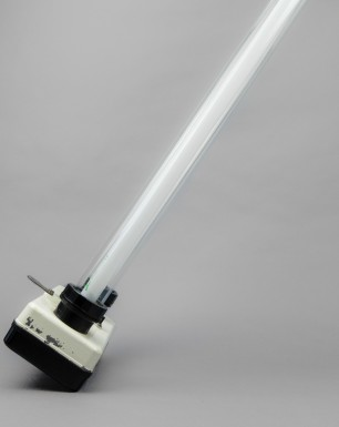 Puma | Doubled Fluorescent Tube Fixture From Late DDR-era