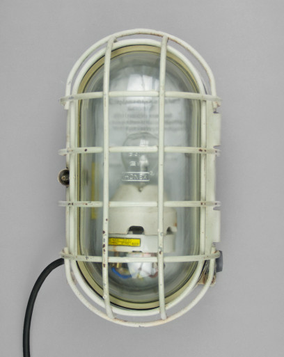 Sea Turtle   Large Industrial Turtle Lamp With Click-cage