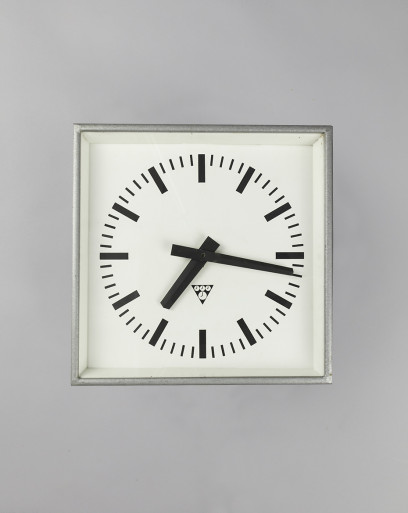 Square Cuckoo | Square Industrial Clock