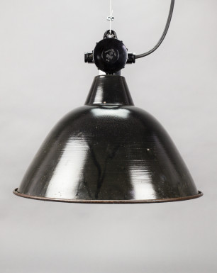 Condor | Bauhaus Style Enamel Pendant