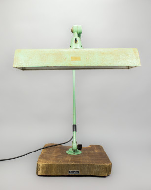 Green Tree Python | Midgard Desk Lamp With Fluorescent Tube