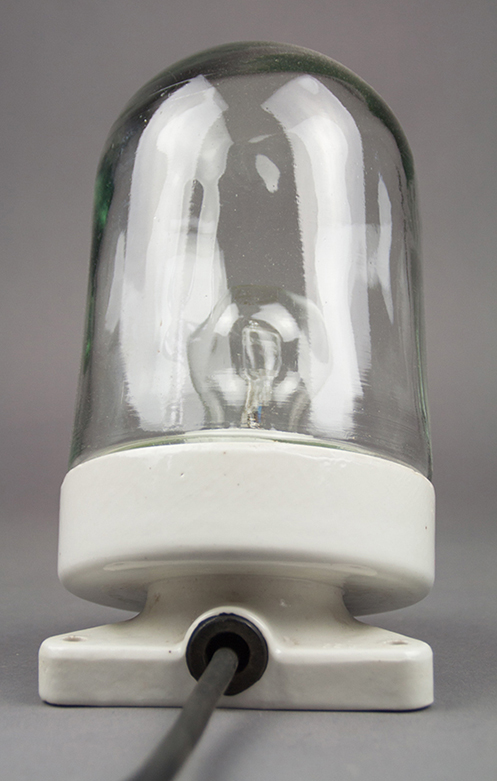 Thorny Oyster | Porcelain And Glass Light With V-shaped Base
