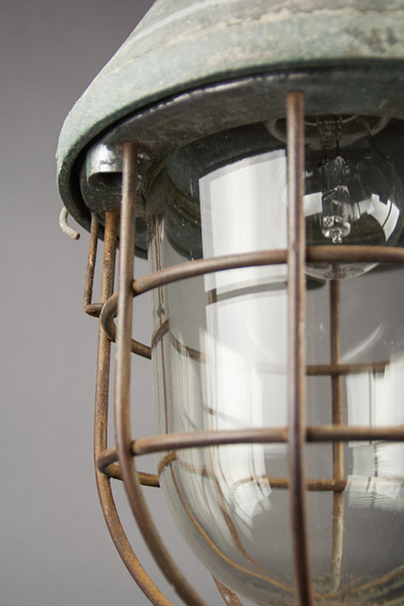 Dragon | Caged Conical Well-glass Pendant Lamp