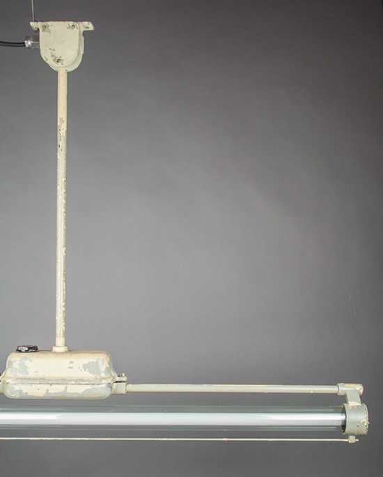 Gazelle | Single Fluorescent Fixture With Long Pendulum