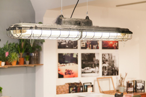 Crocodile | Heavy Industrial Cast-iron Fluorescent light