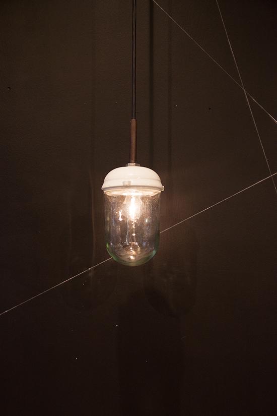 Nautilus | Bauhaus Style Porcelain and Glass Pendant Light