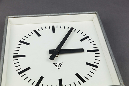 Square Cuckoo | Square Industrial Clock