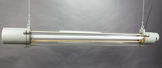 White Rhino|Industrial Glass Tube Pendant