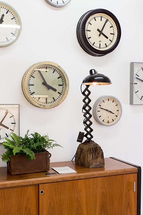 Black Mamba | Bauhaus Inspired Desk Lamp On Azobé Socket