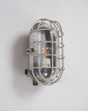 Wall-Ceiling-Industrial-Cage-Lamp-Sea-Turtle-Off
