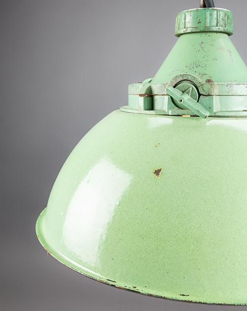 Green Parrot | Mint Green Russian Pendant Light