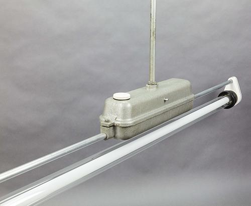 Baby Giraffe | Single tube light fixture from late DDR era