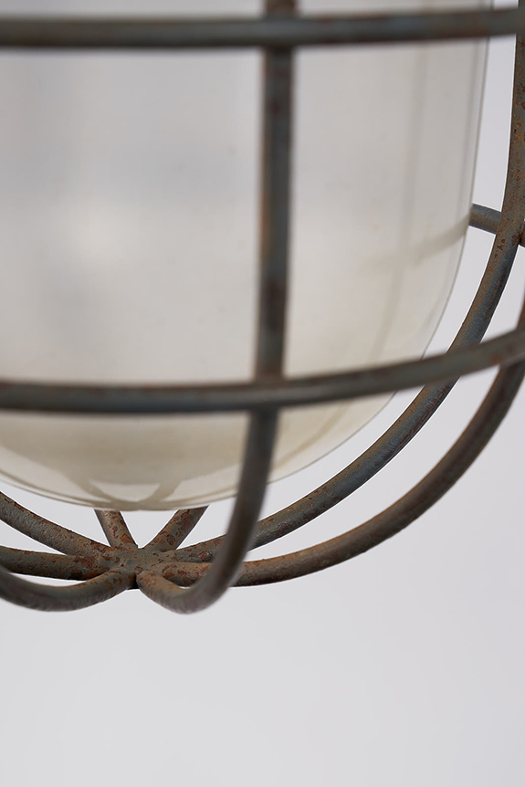 Pendant-Cage-Lamp-Glass