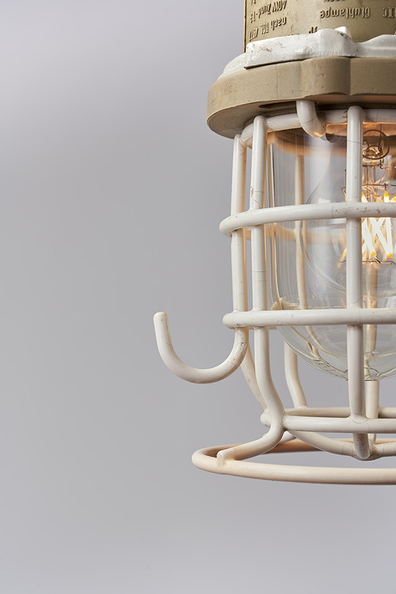 White-Coated-Protective-Cage-Pendant-Light
