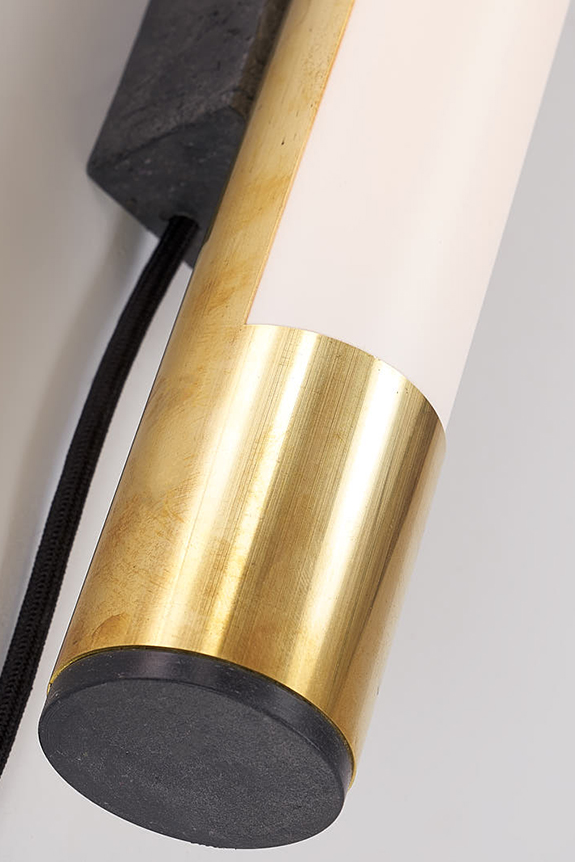 Brass-LED-Wall-Light-Frosted-Cover