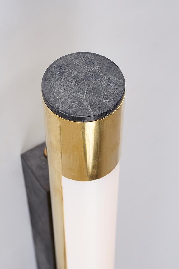 Brass-LED-Wall-Light-Top