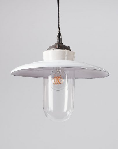 Pendant-Lamp-Shade-Glass-Pearl-Mussel-Off