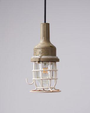 Pendant-lamp-rubber-bunker-white-lined-gecko-off