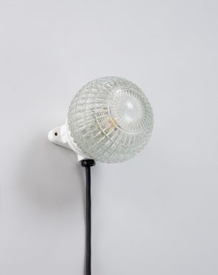 Wall-Ceiling-Light-Glass-Porcelain-Diamond-Oyster-On