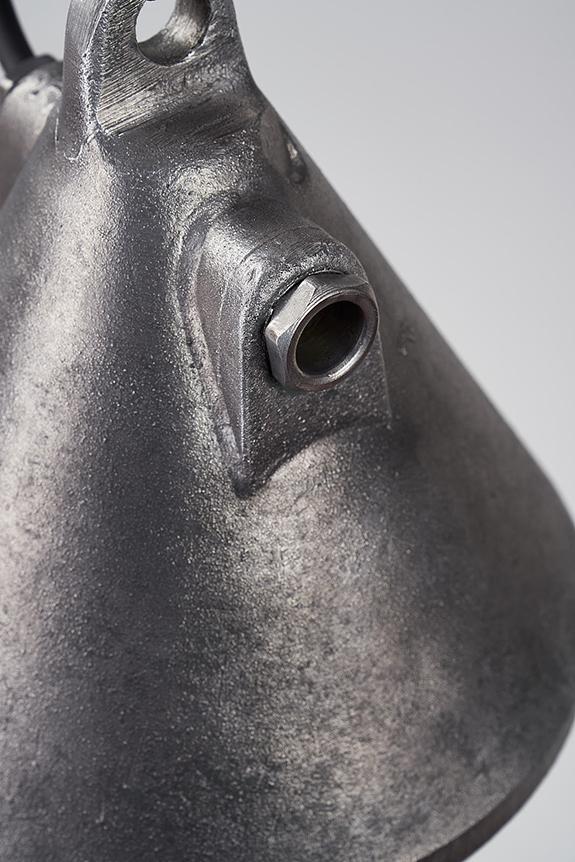 Pendant-Dragon-Cast-Aluminium-Casing-Grey